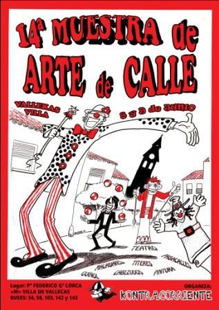 XIV Muestra de Arte de Calle - Villa de Vallecas