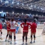 Jugadoras del equipo Español de Voleibol