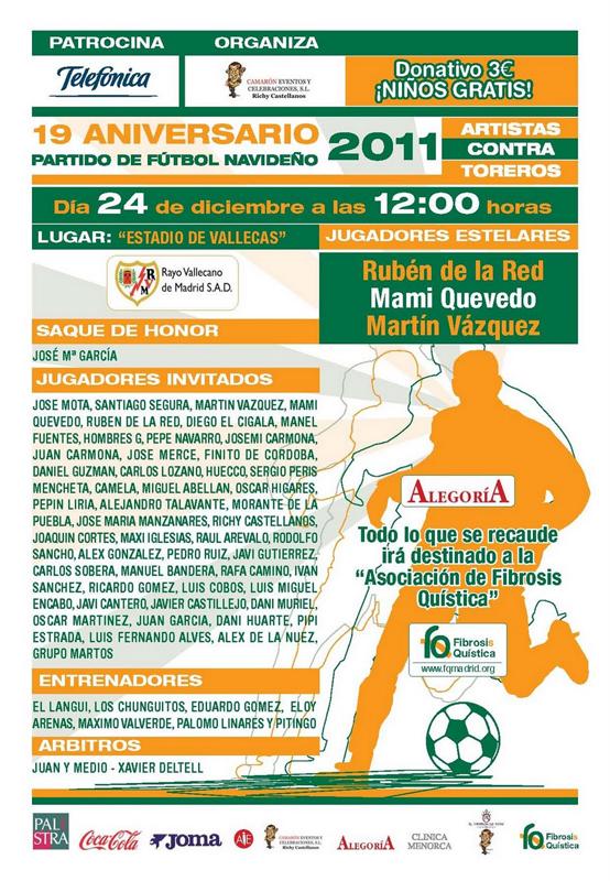19º Partido de Futbol Navideño