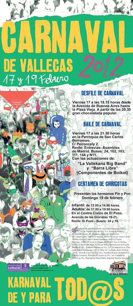 Carnaval 2012 en Vallecas
