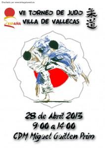 Cartel del VII Campeonato de Judo 2013
