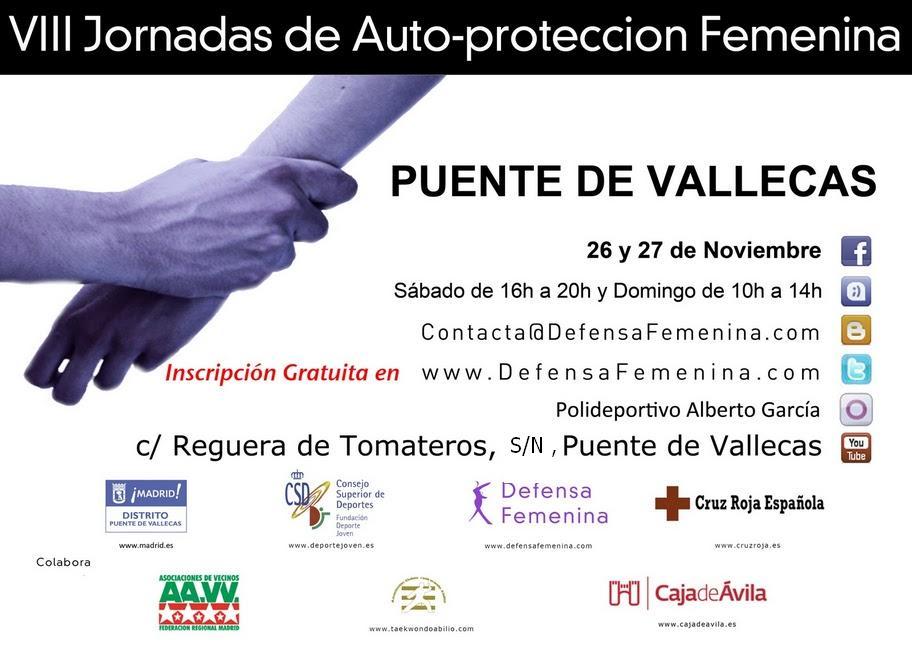 VII Jornadas de Auto-protección Femenina