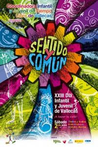 Cartel de XXIII Día Infantil y Juvenil de Vallecas