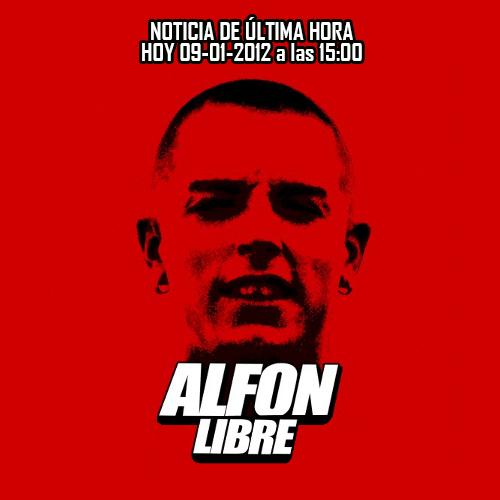 Alfon libre hoy a las 15:00