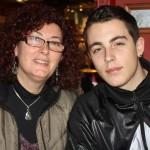 Madre e hijo tras los hechos