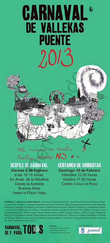 Carnaval 2013 - Puente y Villa de Vallecas