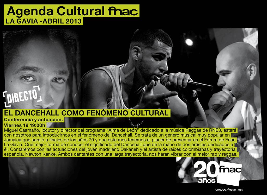 Dancehall - Conferencia y actuaciones sobre el Dancehall