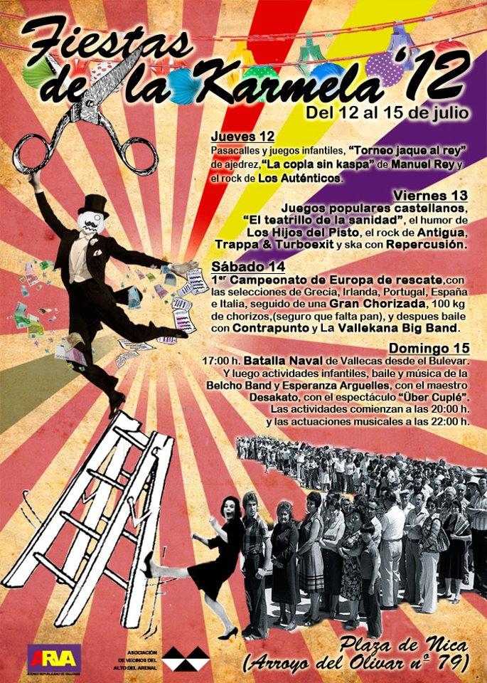 Fiestas de la Karmela 2012