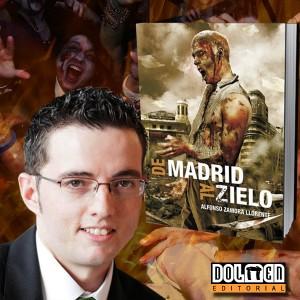Foto del Alfonso y de la portada de la novela