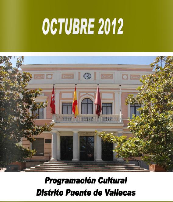 Programación Octubre 2012 distrito Puente Vallecas