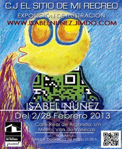Exposición de Ilustraciones de Isabel Núñez