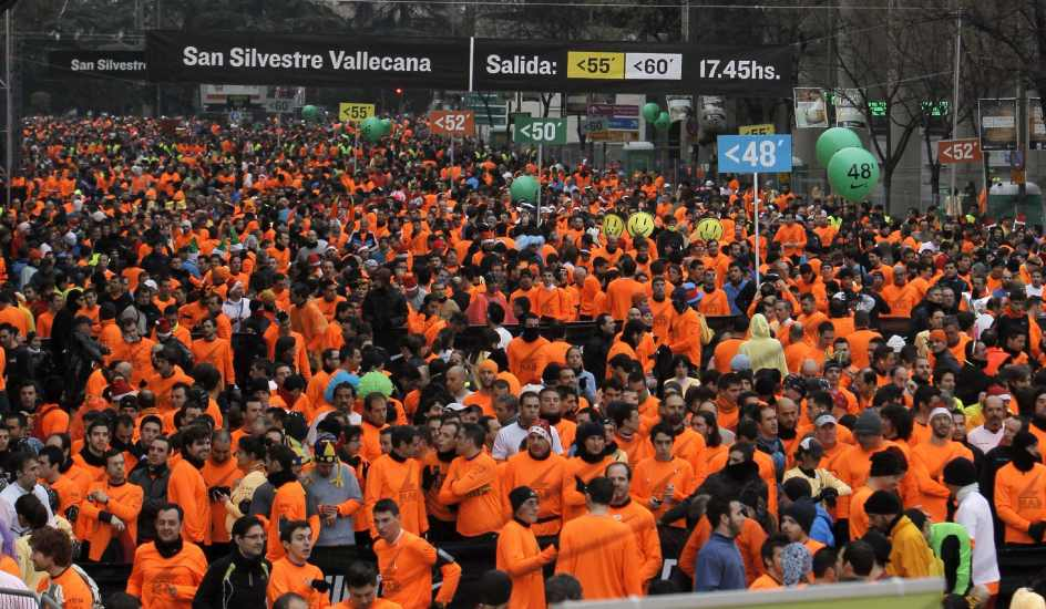 Un Madrileño gana la San Silvestre