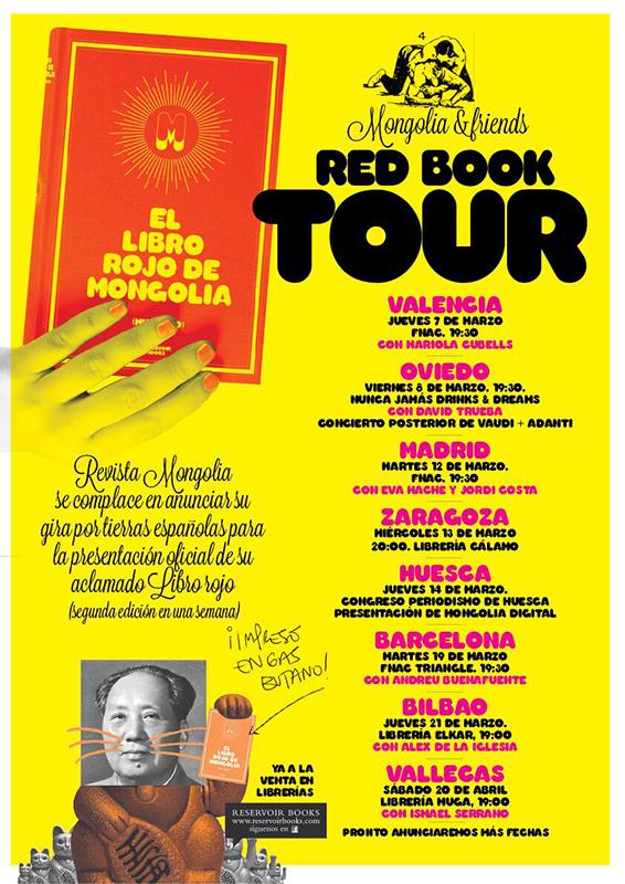 El libro rojo de Mongolia - Presentación en la Librería Muga