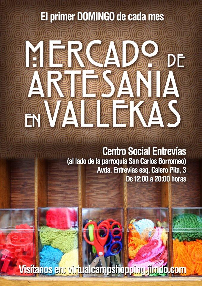Domingo 4: Mercado de Artesanía en Vallecas