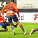 Piti rozó el gol en un disparo en el primer tiempo