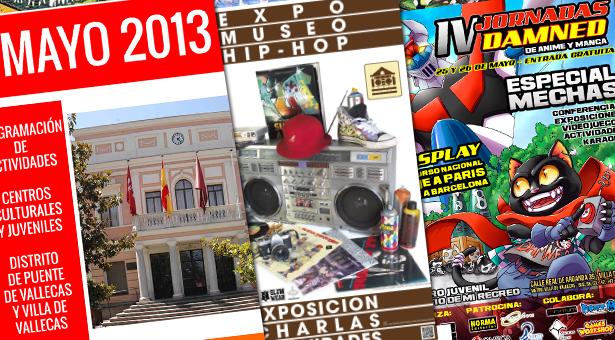 Mayo 2013 - Agenda de Actividades - Conciertos y Expo Museo Hip-Hop