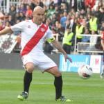 Movilla abrió el marcador ante Osasuna