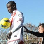 Diamanka debutó en Primera con el Rayo