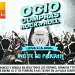 Cartel promocional del evento URock!