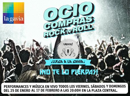 URock! en el C.C. la Gavia