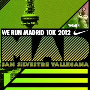 Cartel de la XXXV San Silvestre Vallecana - 2012