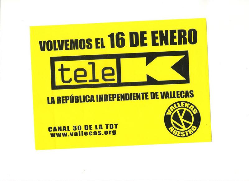 Mañana es un gran día: ¡Tele K vuelve!