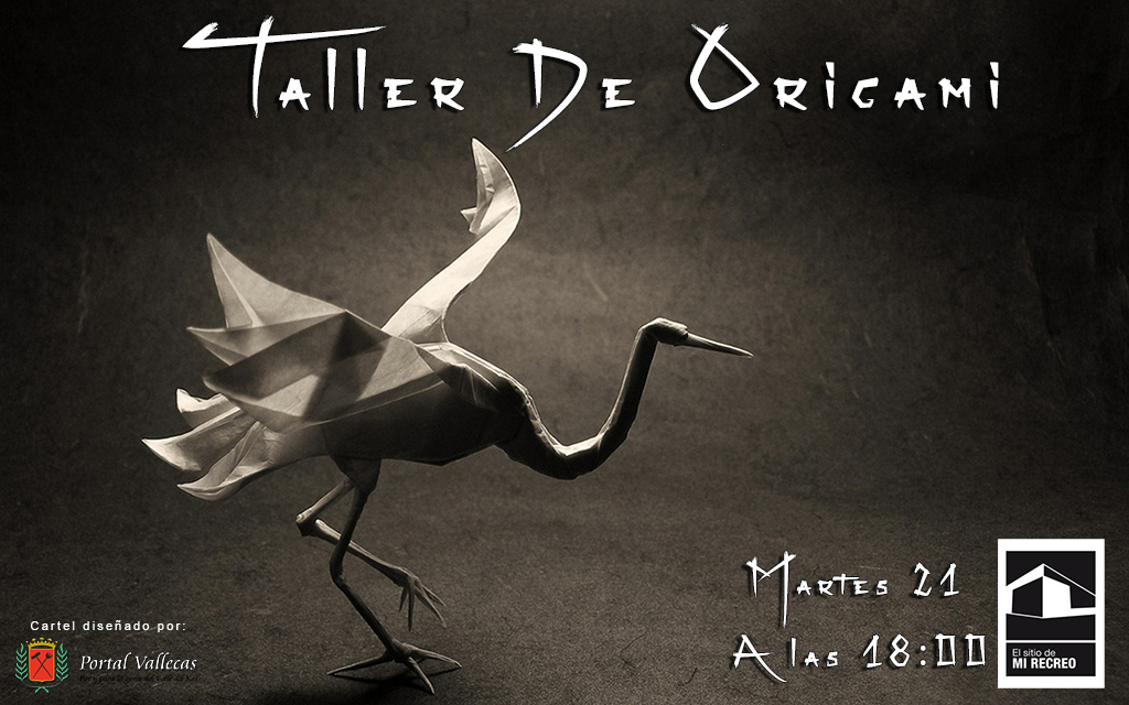 Cartel del Taller de Origami 2013