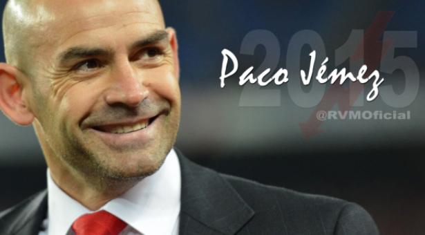 Paco Jémez renueva como entrenador hasta el 2015