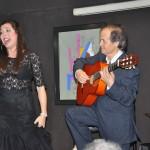 María José Pérez y a la guitarra Juan Antonio Muñoz
