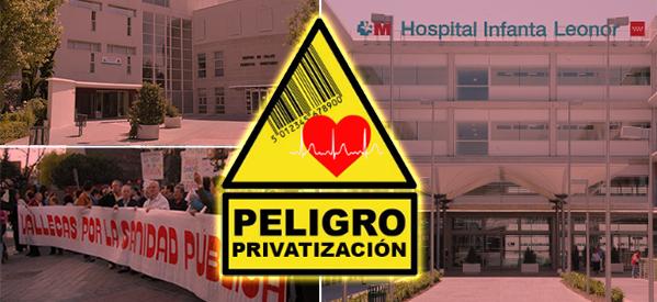 Privatización de Centros de Salud en Vallecas