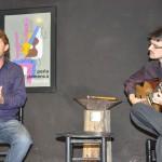 Ramón Sánchez acompañado por Pablo Vega a la guitarra