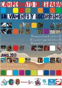 Cartel del campeonato de verano 2013 - Alicante