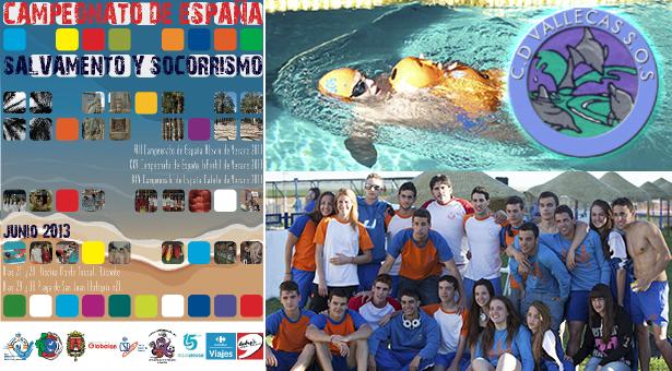 Club deportivo Vallecas S.O.S. en los Campeonatos de España de verano