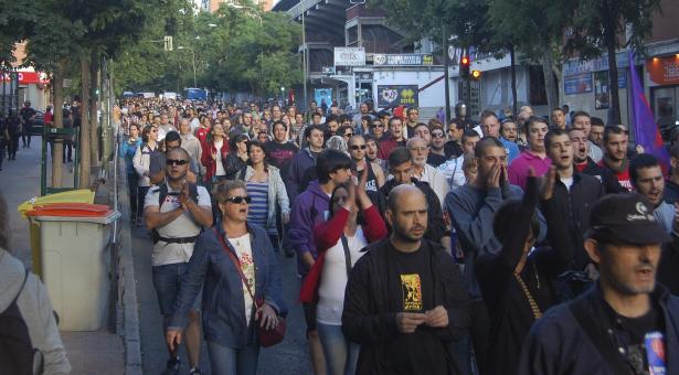18J - 2ª Concentración en el Federica Montseny y Manifestación en la Albufera