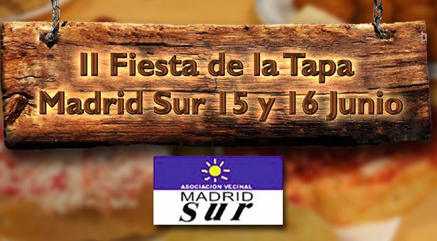II Fiesta de la Tapa de Madrid Sur - 15 y 16 de Junio