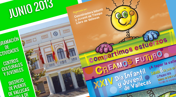 Junio 2013 – Agenda de Actividades – XXIV Día Infantil y Juvenil de Vallecas