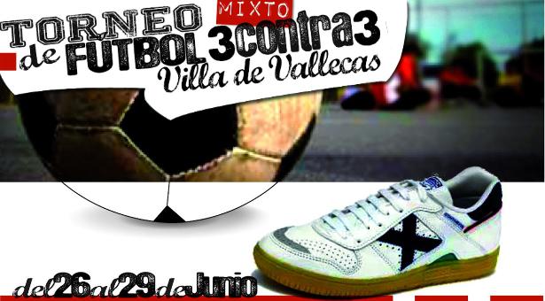 Torneo Mixto de Fútbol 3Contra3 Villa de Vallecas