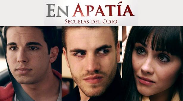 """El actor vallecano Álvaro Díaz en el film """"En Apatía – Secuelas del Odio"""""""