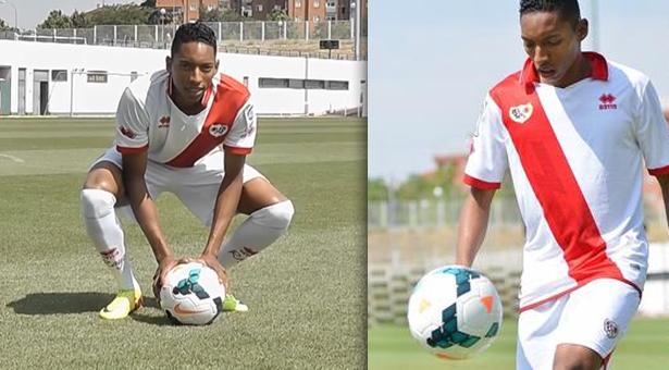 Johan Mojica nuevo jugador del Rayo