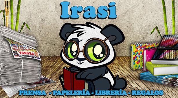 Irasi - Prensa, Papelería y Librería