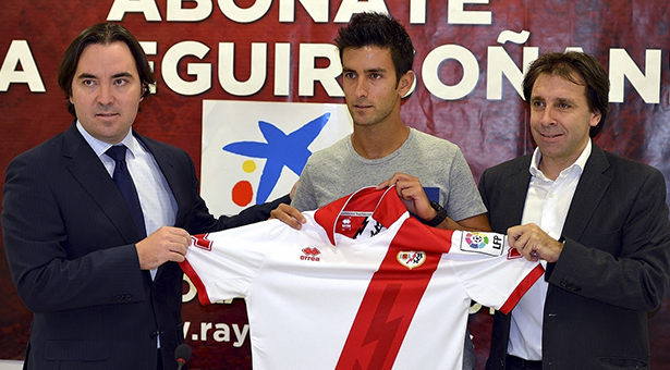Alberto Bueno nuevo jugador del Rayo Vallecano