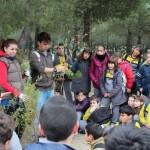 Alumnos del C.C. Nueva Castilla en una de las excursiones al Cerro