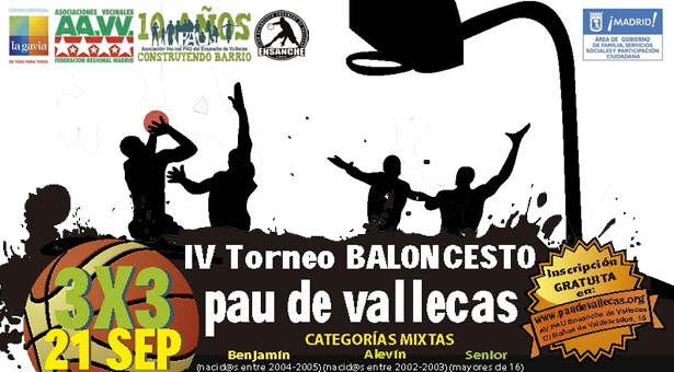 IV Torneo de Baloncesto del Pau de Vallecas