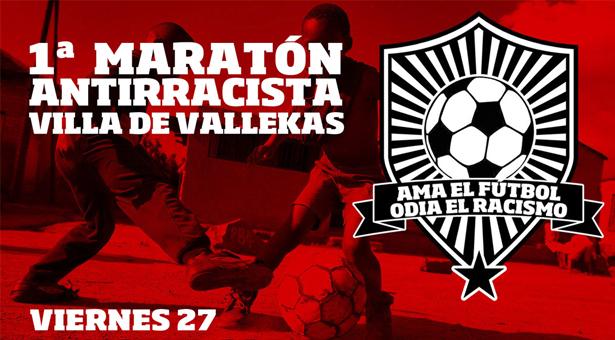 I Maratón de Fútbol Antirracista Villa de Vallekas
