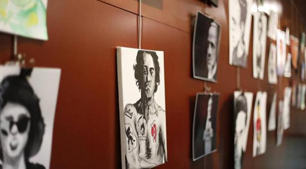 Exposición de 'Buckaroo Warriors: Retratos, letterism y longboards' en el