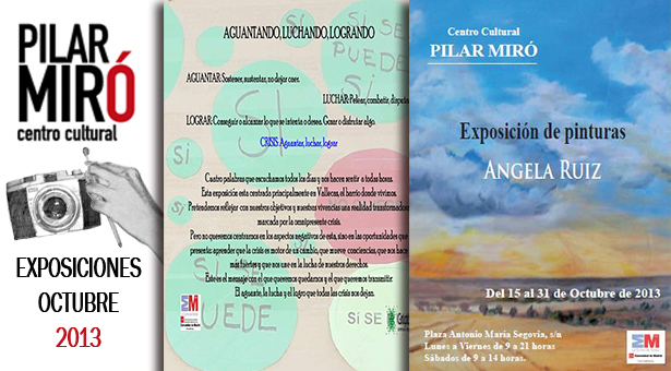 Exposiciones en C.C.Pilar Miró - Fotografías