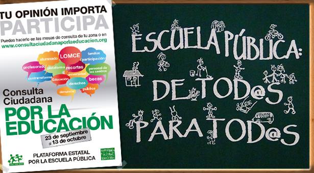 Consulta Ciudadana por la Educación en Vallecas