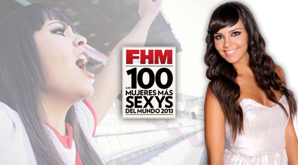 Cristina Pedroche elegida como FHM - La Mujer más sexy del mundo 2013