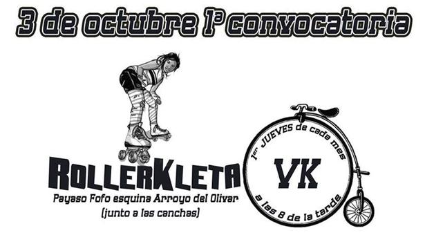 I Convocatoria RollerKleta – 03 de Octubre