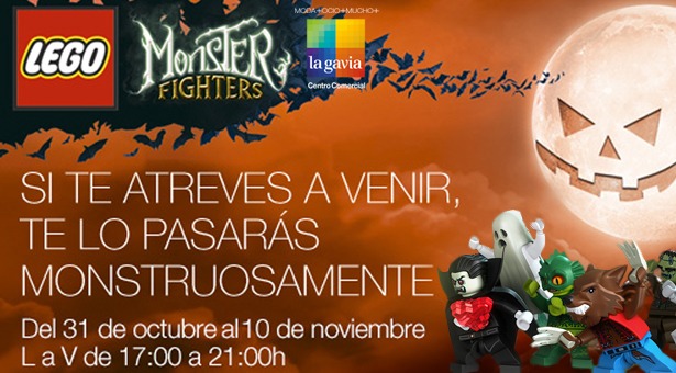 Halloween para peques en el C.C. La Gavia de la mano de LEGO Monster Fighters